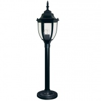 Світильник вуличний стоячий DALLAS MINI 0.8 м чорного кольору