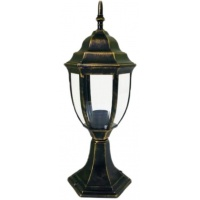 Світильник вуличний стоячий DALLAS MINI 40 см мідного кольору