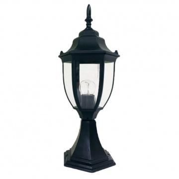 Світильник вуличний стоячий DALLAS MINI 40 см чорного кольору