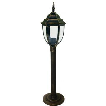 Світильник вуличний стоячий DALLAS MINI 0.8 м мідного кольору