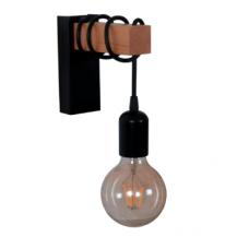 Настінний світильник Lumber W-1 чорного кольору в стилі Лофт