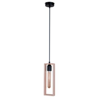 Подвесная люстра Cornice C-1 черного цвета в стиле Лофт
